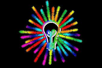 Ampoule couleurs